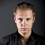 Flyer von Veranstaltungen mit Armin van Buuren