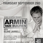 Armin van Buuren @ Epic, Minneapolis (2. Sep. 2010)