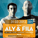 Aly & Fila @ Four Runners Club, Ludwigsburg (31. März 2013)