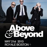 Above & Beyond @ Royale, Boston (21. Mai 2013)