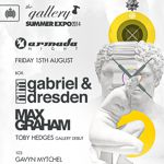 Gabriel & Dresden @ The Gallery, London (15. August 2014)